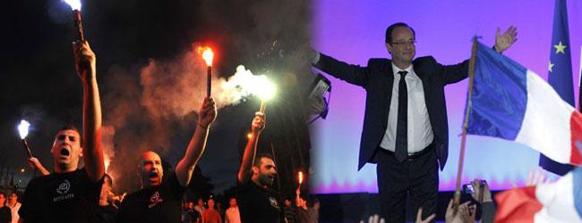 Elecciones en Francia y Grecia