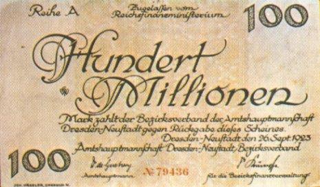 Devaluación del marco alemán 2