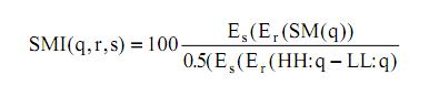 Análisis técnico - Cálculo del SMI