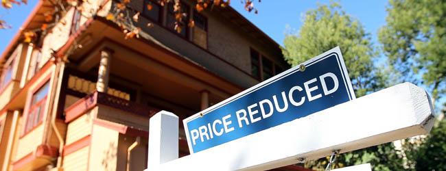 Bajada del precio de la vivienda
